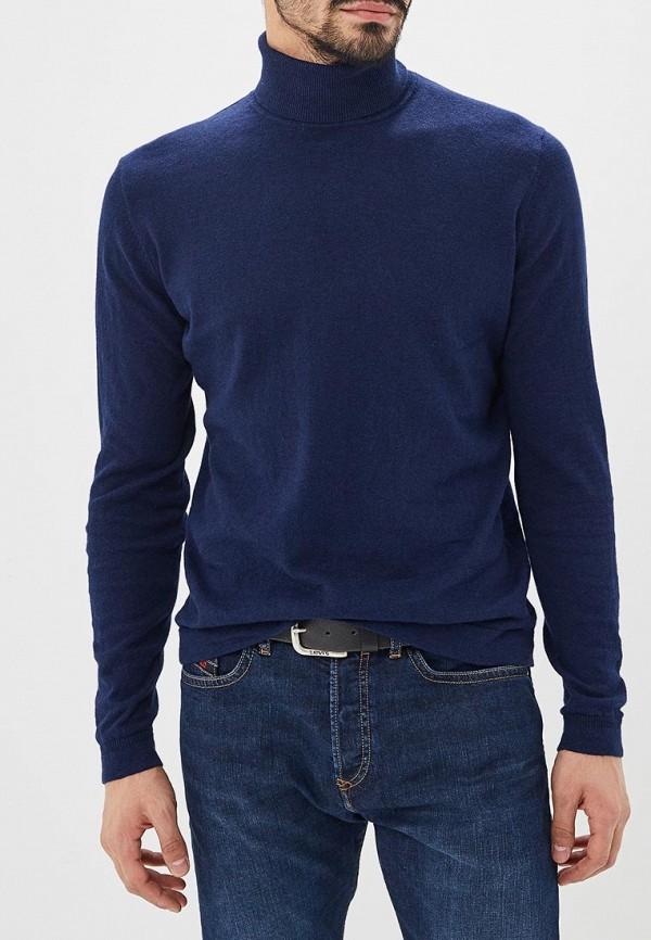 мужская водолазка tom tailor, синяя
