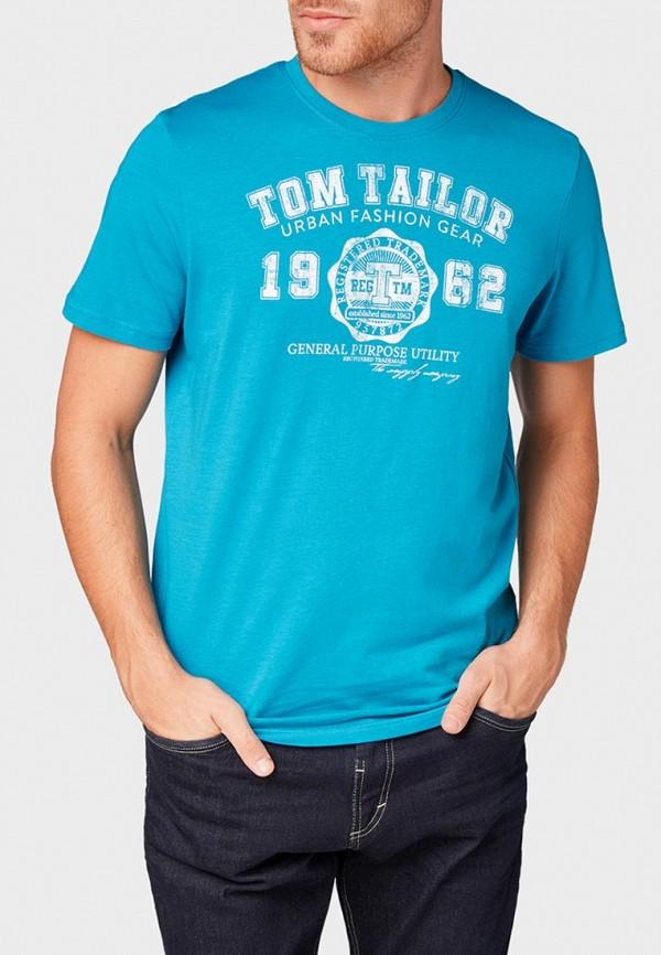 Футболка Tom Tailor Tom Tailor TO172EMBXHN4 футболка tom tailor tom tailor to172ewcusm4