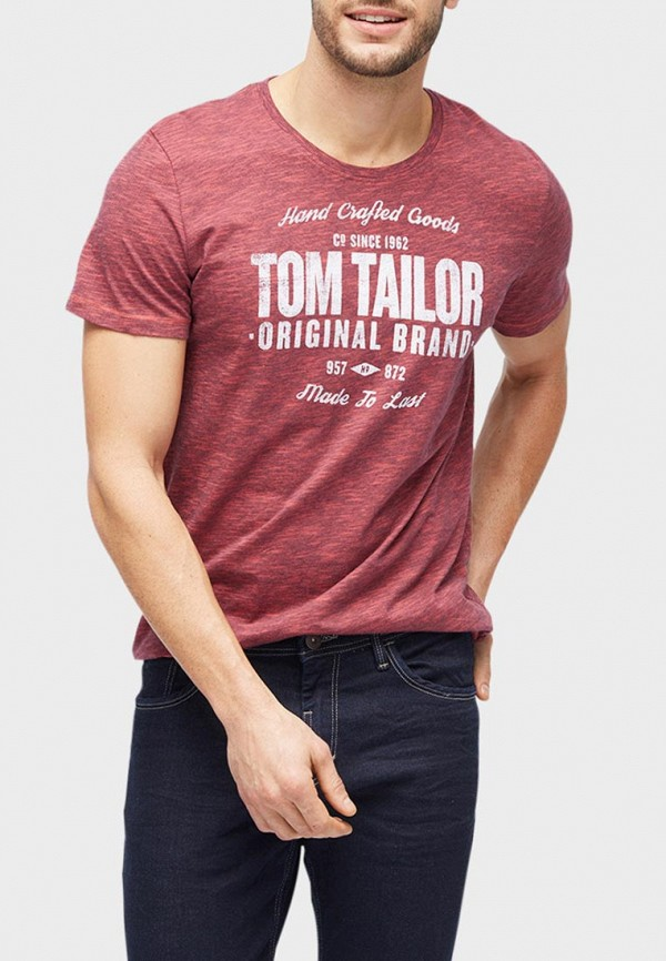 Футболка Tom Tailor Tom Tailor TO172EMBXHN7 футболка tom tailor tom tailor to172embxhi7