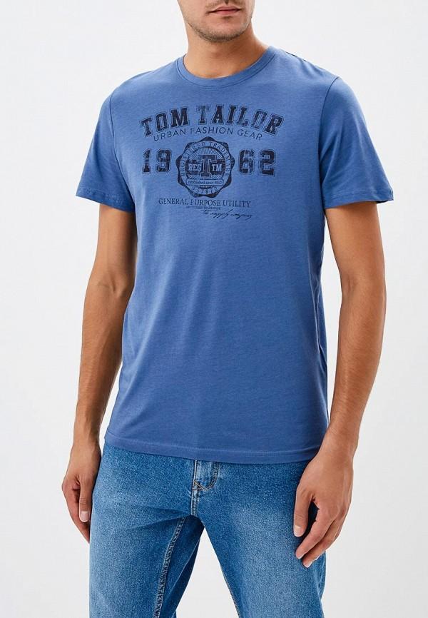 Футболка Tom Tailor Tom Tailor TO172EMCJQU9 недорго, оригинальная цена