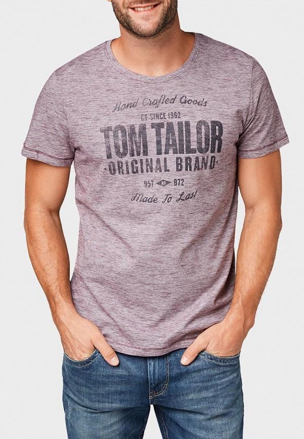 Футболка Tom Tailor Tom Tailor TO172EMCJQX0 футболка tom tailor tom tailor to172ewacth1