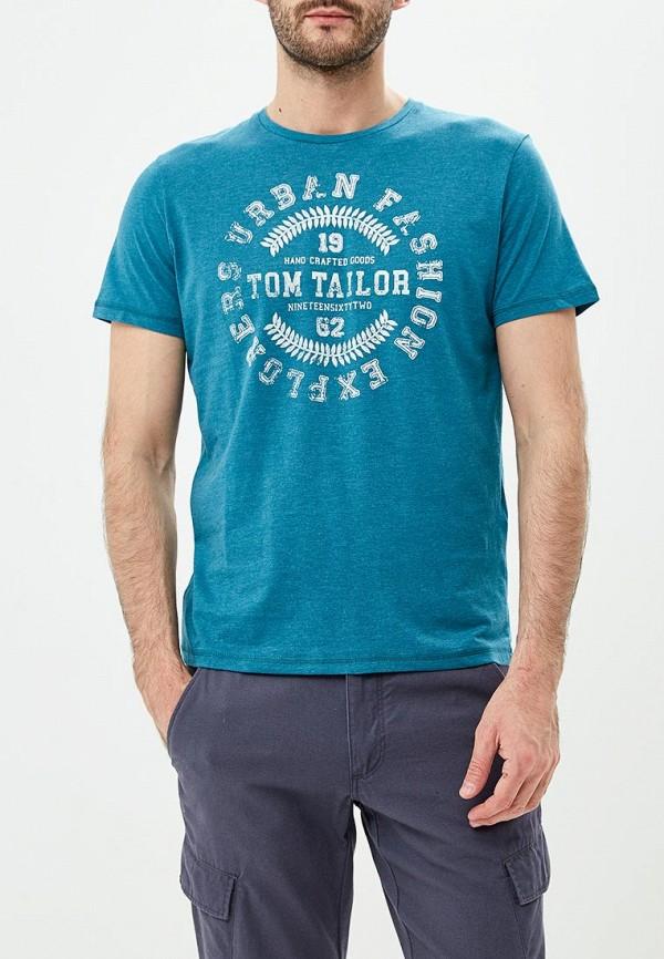 Футболка Tom Tailor Tom Tailor TO172EMDLDJ3 перчатки tom tailor перчатки