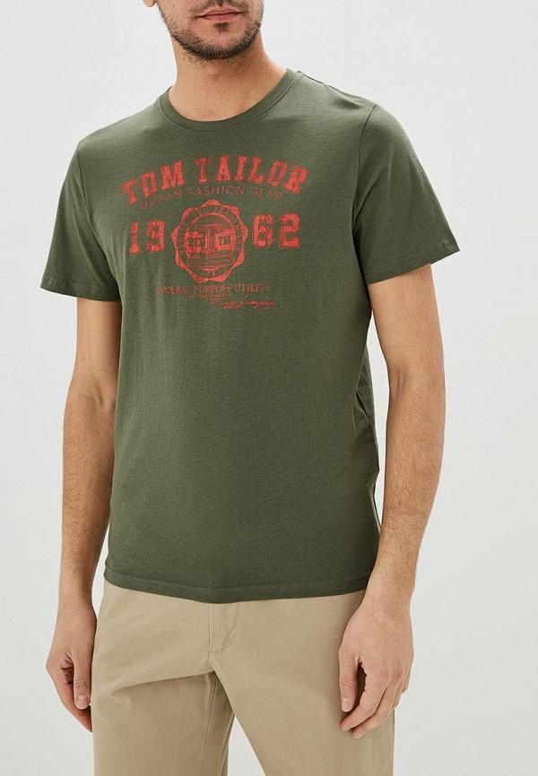Футболка Tom Tailor Tom Tailor TO172EMDTKJ0 футболка tom tailor tom tailor to793emehoa7