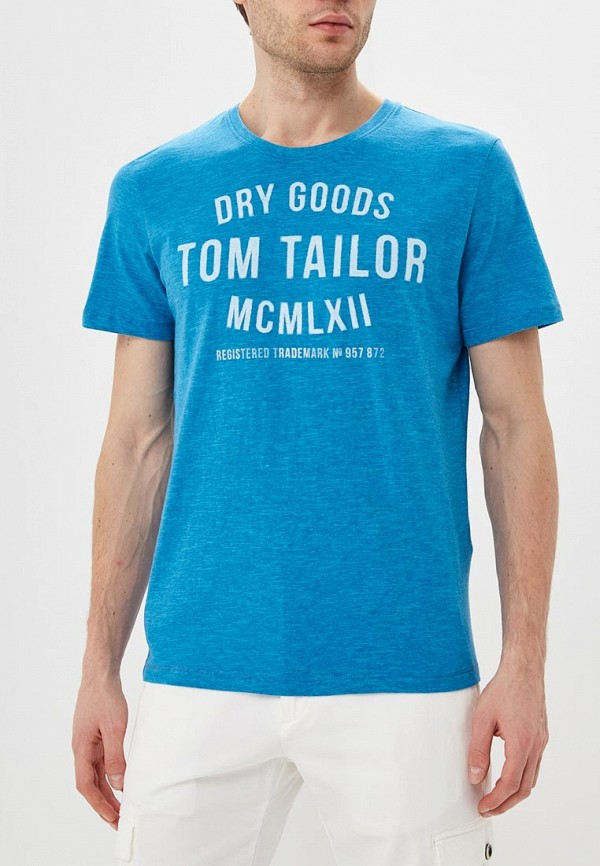 Футболка Tom Tailor Tom Tailor TO172EMDTKJ2 футболка tom tailor tom tailor to172emdtmo7