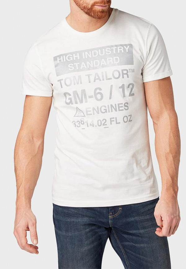 Футболка Tom Tailor Tom Tailor TO172EMDTKM8 недорго, оригинальная цена