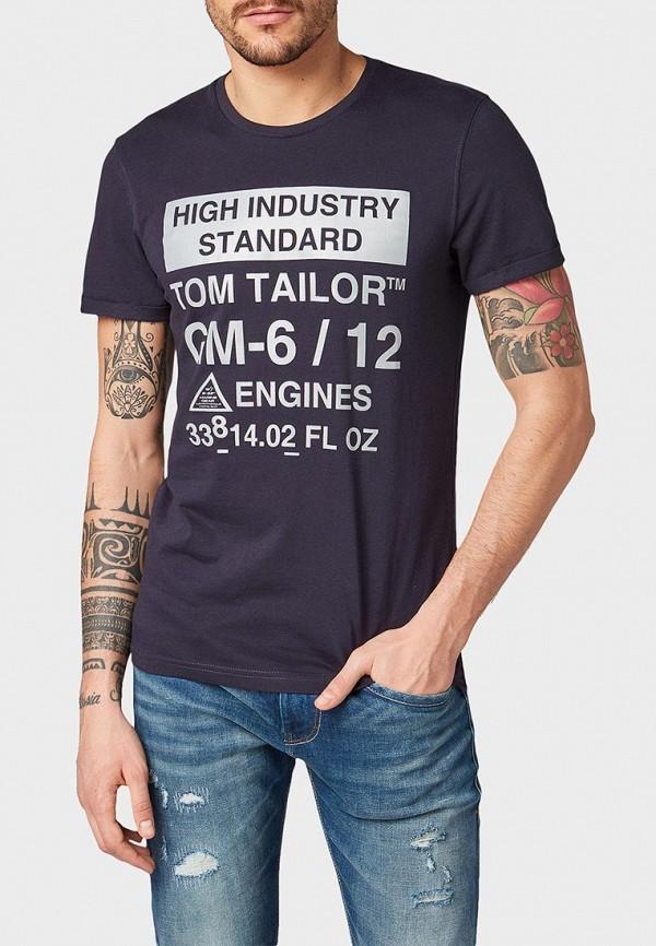 Футболка Tom Tailor Tom Tailor TO172EMDTKN0 футболка tom tailor tom tailor to793emehoa7