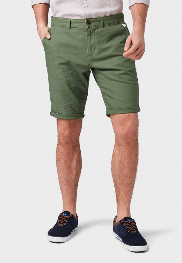 Фото - мужские шорты Tom Tailor зеленого цвета