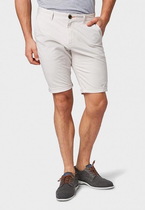 мужские шорты tom tailor, серые
