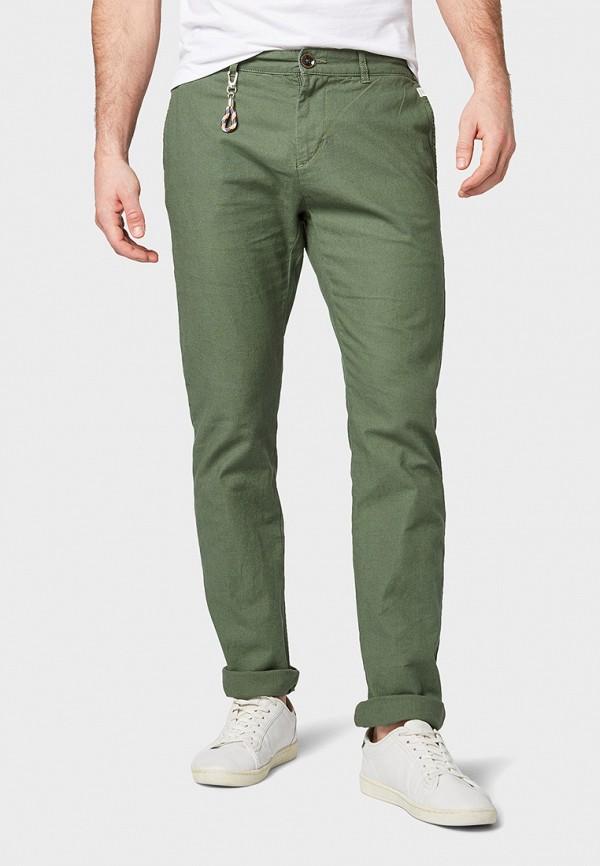 мужские повседневные брюки tom tailor, хаки