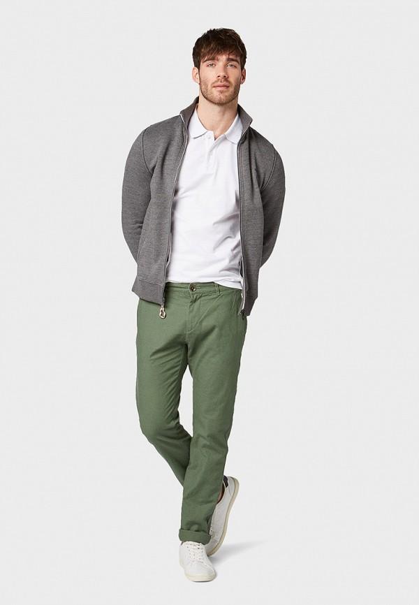 Фото 2 - мужские брюки Tom Tailor цвета хаки
