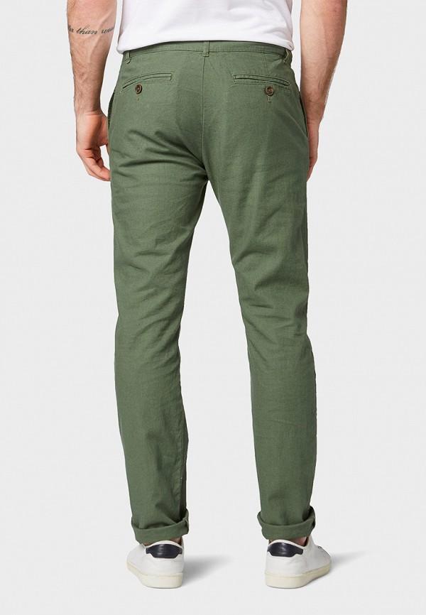 Фото 3 - мужские брюки Tom Tailor цвета хаки