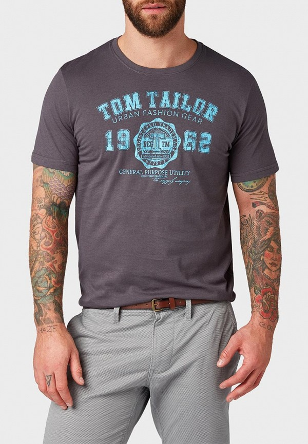 Футболка Tom Tailor Tom Tailor TO172EMDXPO1 футболка tom tailor tt1030802 р s int