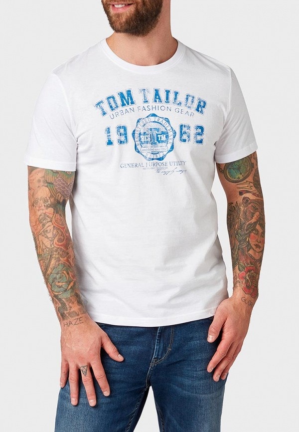 Футболка Tom Tailor Tom Tailor TO172EMDXPO2 футболка tom tailor tom tailor to172emdrew5