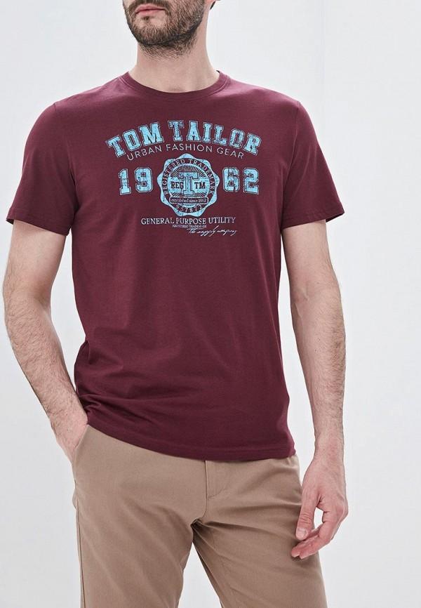 Футболка Tom Tailor Tom Tailor TO172EMFHGR5 футболка tom tailor tom tailor to172emcjqx2