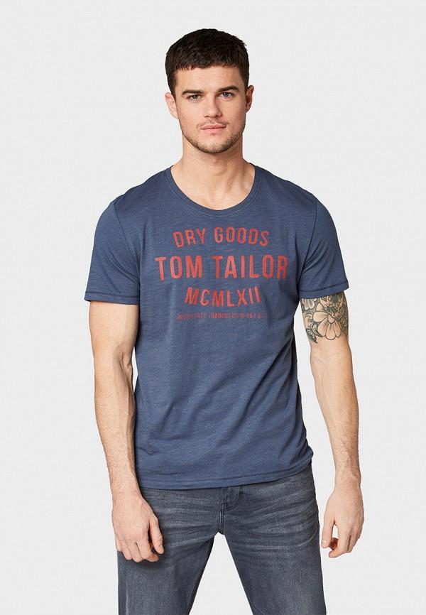 Футболка Tom Tailor Tom Tailor TO172EMFHGR7 футболка tom tailor tom tailor to172emcjqx2