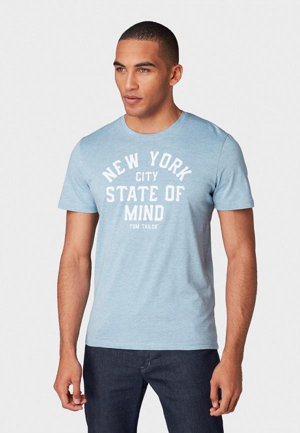 Футболка Tom Tailor Tom Tailor TO172EMFHGW6 футболка tom tailor tom tailor to172emcjqx2