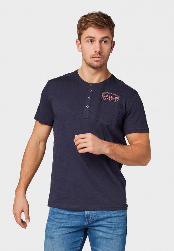 Футболка Tom Tailor Tom Tailor TO172EMFHGX3 футболка tom tailor tt1028884 р s int