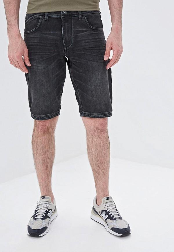 мужские шорты tom tailor, черные