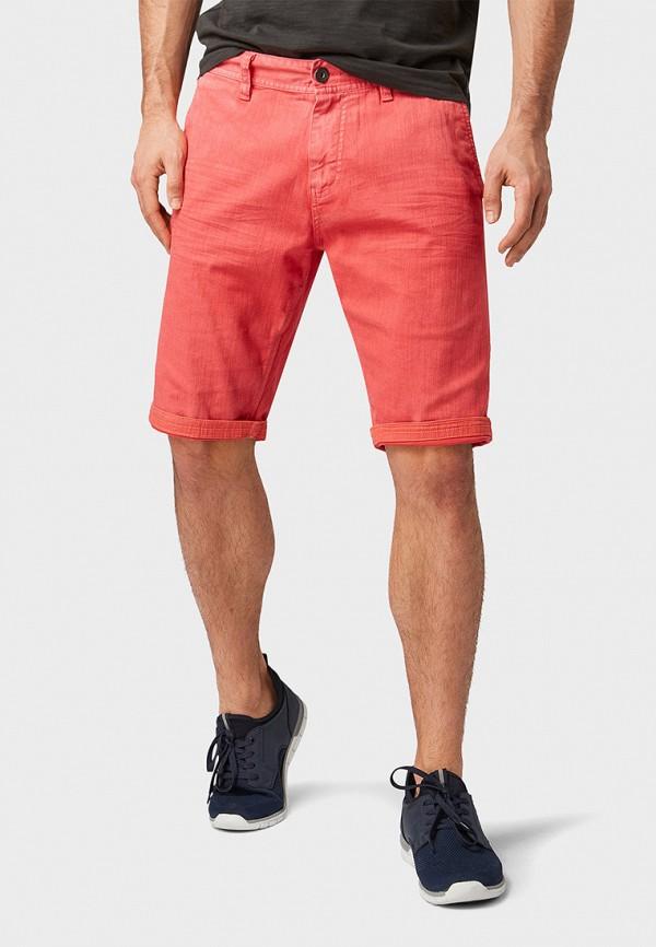 мужские шорты tom tailor, красные