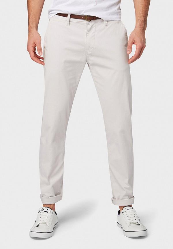 мужские брюки чинос tom tailor, белые