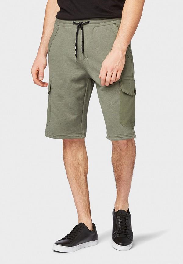 мужские повседневные шорты tom tailor, хаки