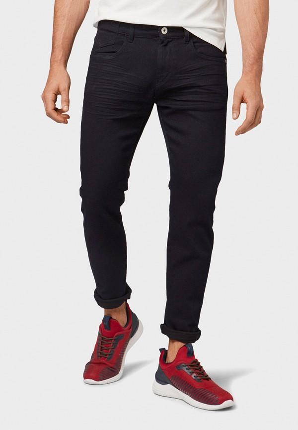 мужские зауженные джинсы tom tailor, черные