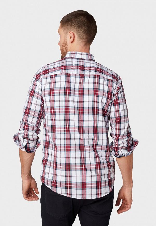 Фото 3 - мужскую рубашку Tom Tailor красного цвета