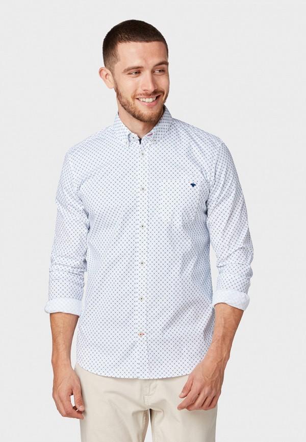 Фото - Мужскую рубашку Tom Tailor белого цвета