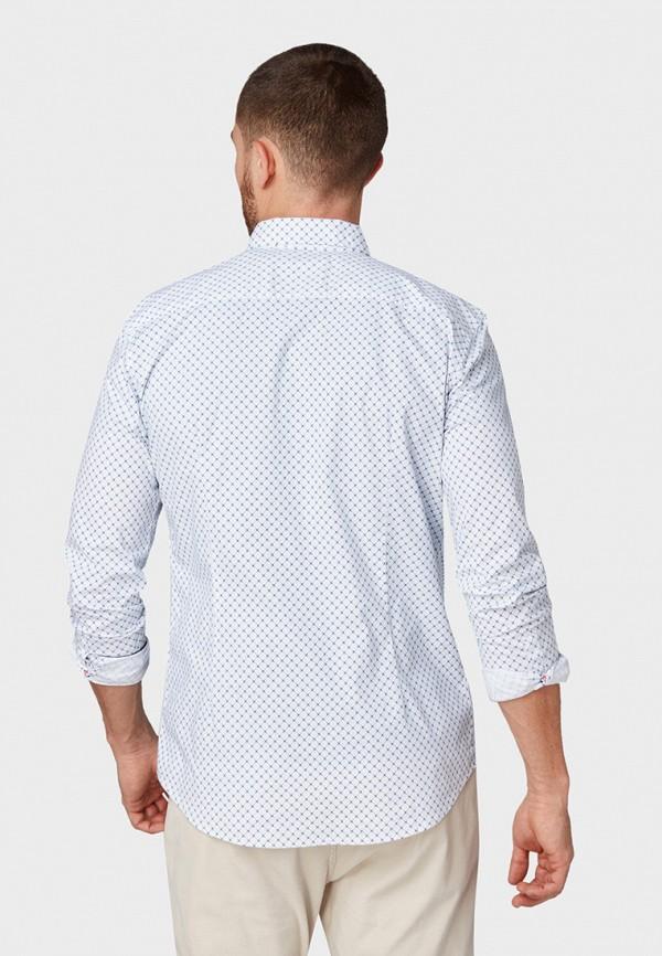 Фото 3 - Мужскую рубашку Tom Tailor белого цвета