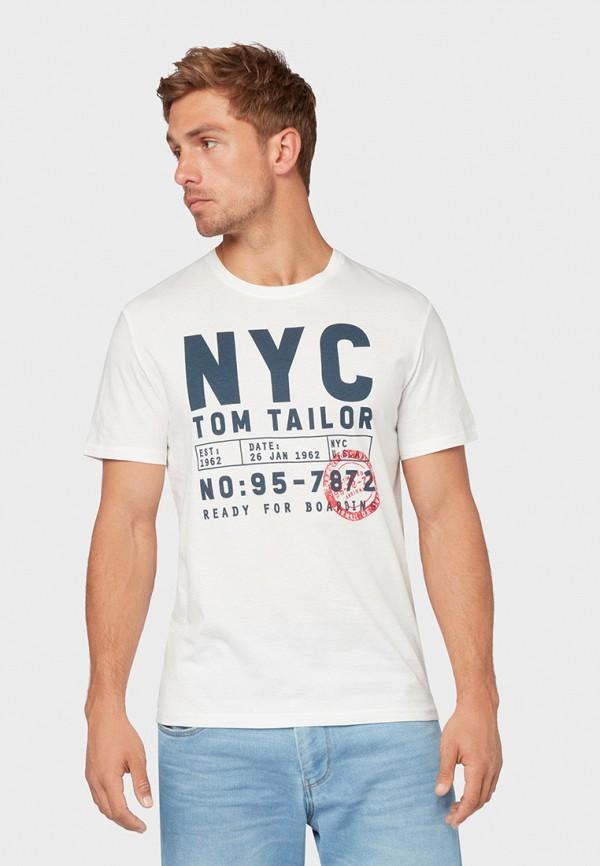Футболка Tom Tailor Tom Tailor TO172EMGBDX1 босоножки tom
