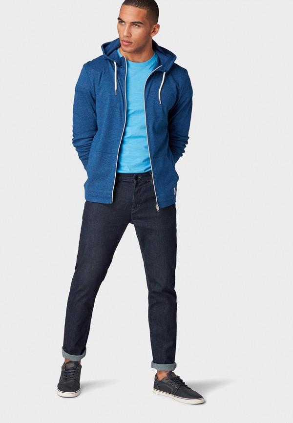 Фото 2 - мужскую футболку Tom Tailor голубого цвета