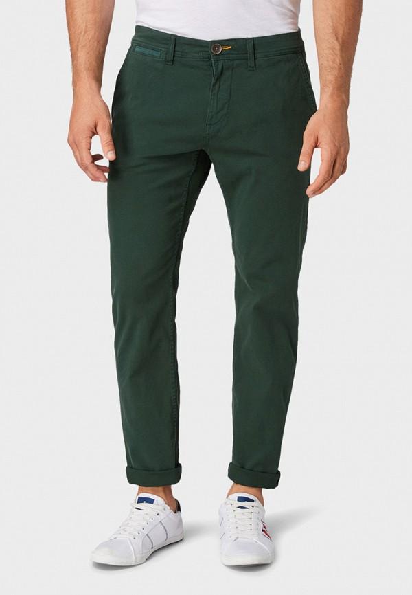 мужские повседневные брюки tom tailor, зеленые