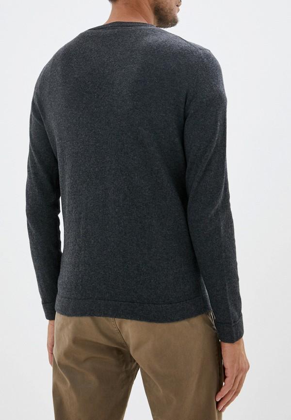 Фото 3 - мужское джемпер Tom Tailor серого цвета
