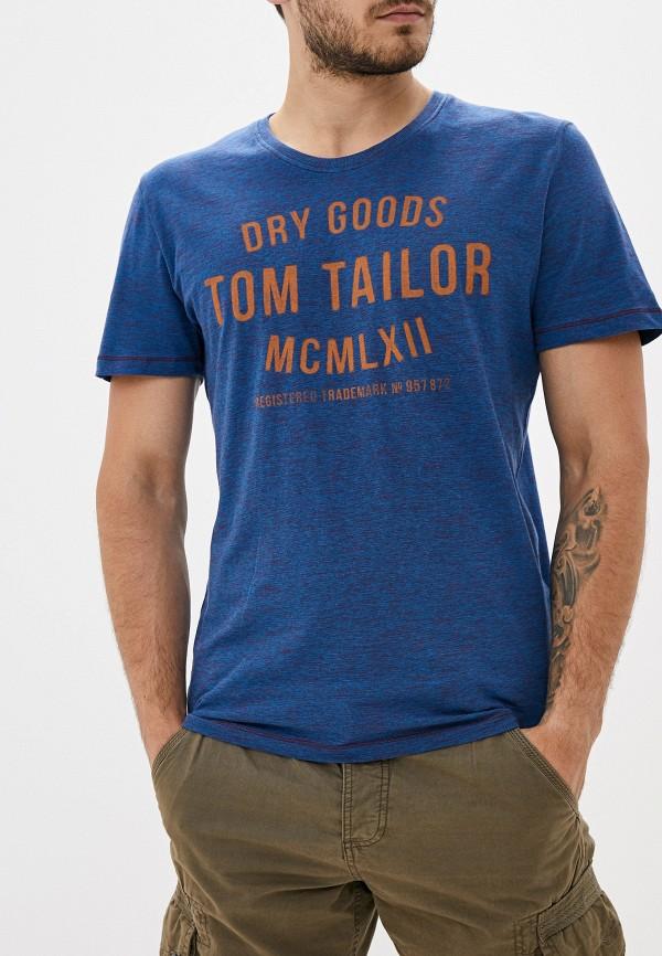 Футболка Tom Tailor Tom Tailor TO172EMGBEY5 недорго, оригинальная цена