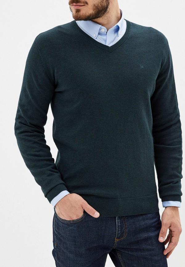 мужской пуловер tom tailor, зеленый