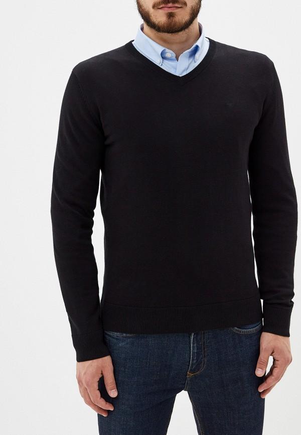 мужской пуловер tom tailor, черный