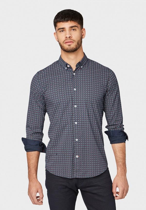 Рубашка Tom Tailor Tom Tailor TO172EMGBFB3 рубашка regular tom tailor р s int 46 ru 37