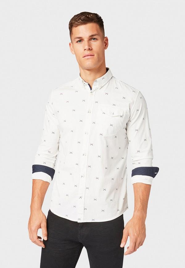 Рубашка Tom Tailor Tom Tailor TO172EMGBFJ5 рубашка regular tom tailor р s int 46 ru 37