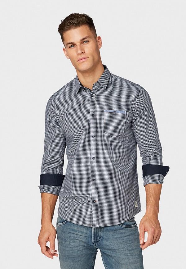 Рубашка Tom Tailor Tom Tailor TO172EMGBFK4 рубашка regular tom tailor р s int 46 ru 37
