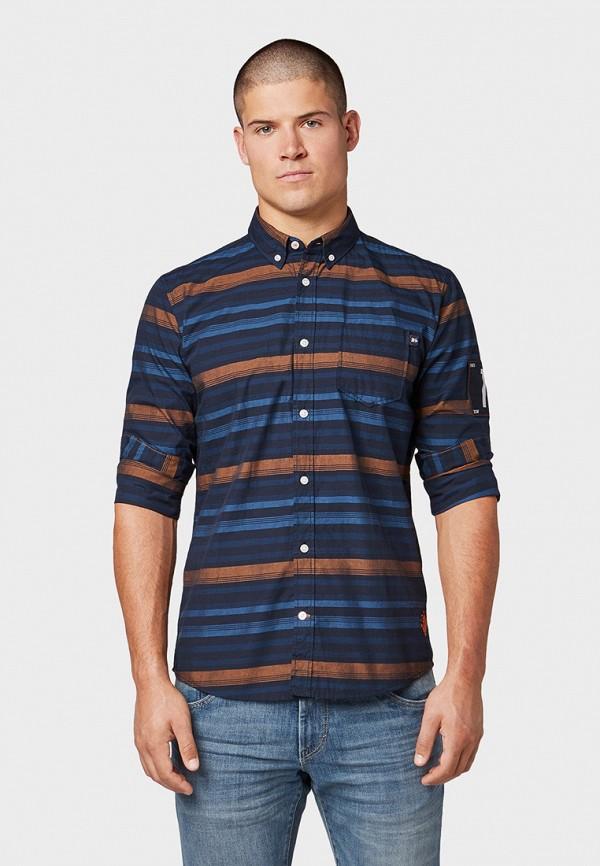 Рубашка Tom Tailor Tom Tailor TO172EMGBFV2 рубашка regular tom tailor р s int 46 ru 37