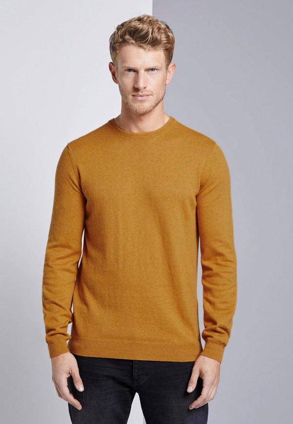 мужской джемпер tom tailor, желтый