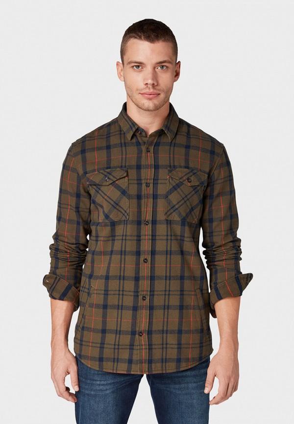 Рубашка Tom Tailor Tom Tailor TO172EMGBGC2 рубашка regular tom tailor р s int 46 ru 37
