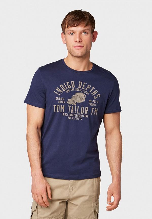 Футболка Tom Tailor Tom Tailor TO172EMGBNQ0 футболка tom tailor tt1028884 р s int