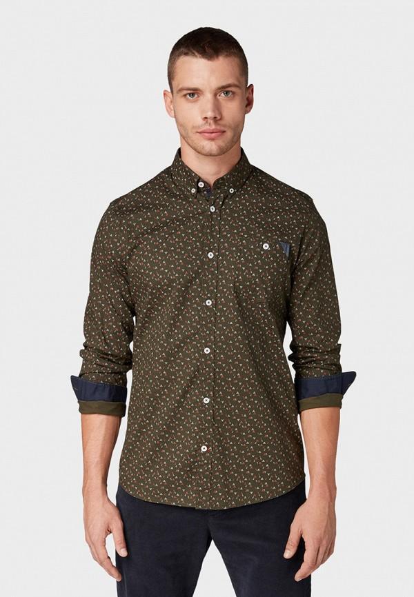 Рубашка Tom Tailor Tom Tailor TO172EMGRTB3 рубашка regular tom tailor р s int 46 ru 37