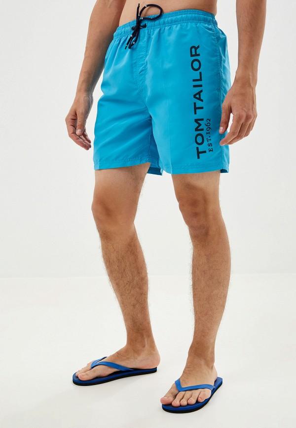 мужские шорты tom tailor, голубые