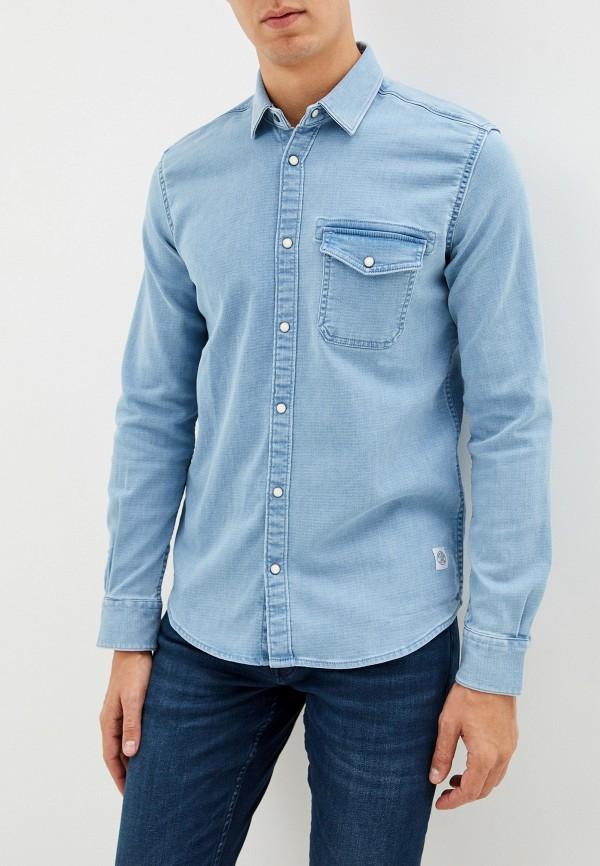 Рубашка джинсовая Tom Tailor Tom Tailor TO172EMGSIH3 рубашка regular tom tailor р s int 46 ru 37
