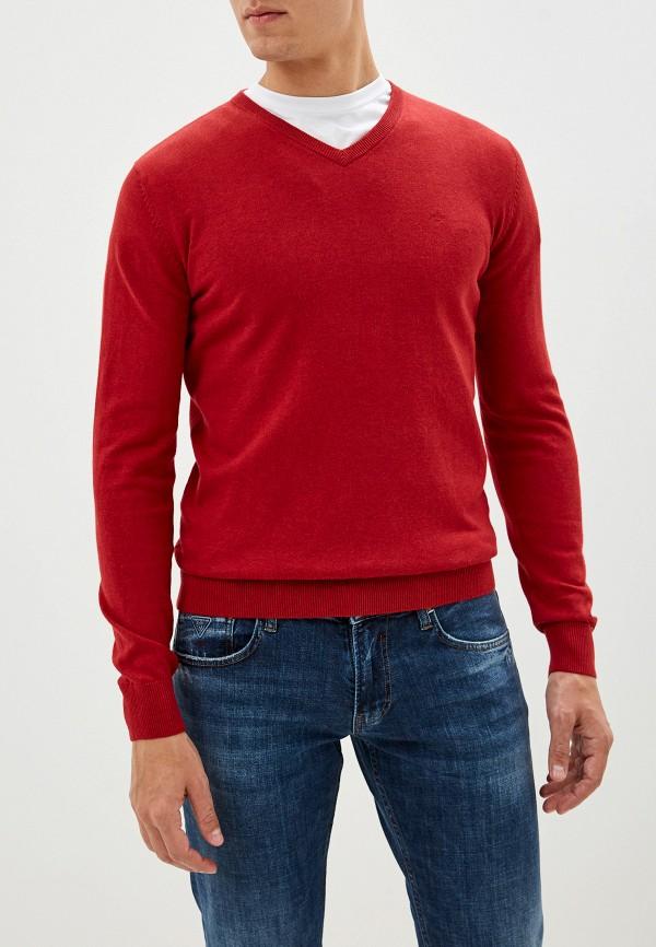 мужской пуловер tom tailor, красный