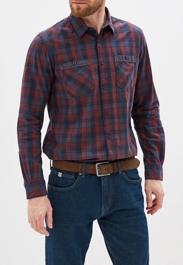 мужская рубашка с длинным рукавом tom tailor, разноцветная