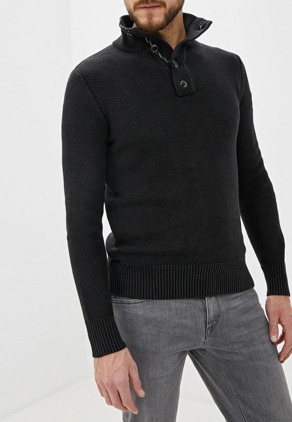 мужской джемпер tom tailor, черный