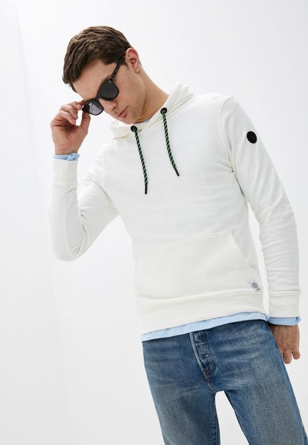 мужские худи tom tailor, белые